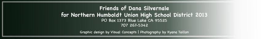 Friends of Dana Silvernale 2013